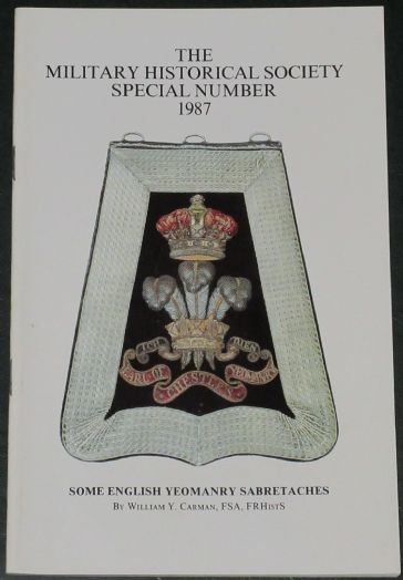 Some English Yeomanry Sabretaches, by William Y Carman